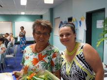 Lorraine McGill & Nadine Pinto