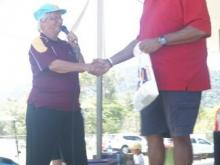 Henry Williams newly crowned Qld Umpire